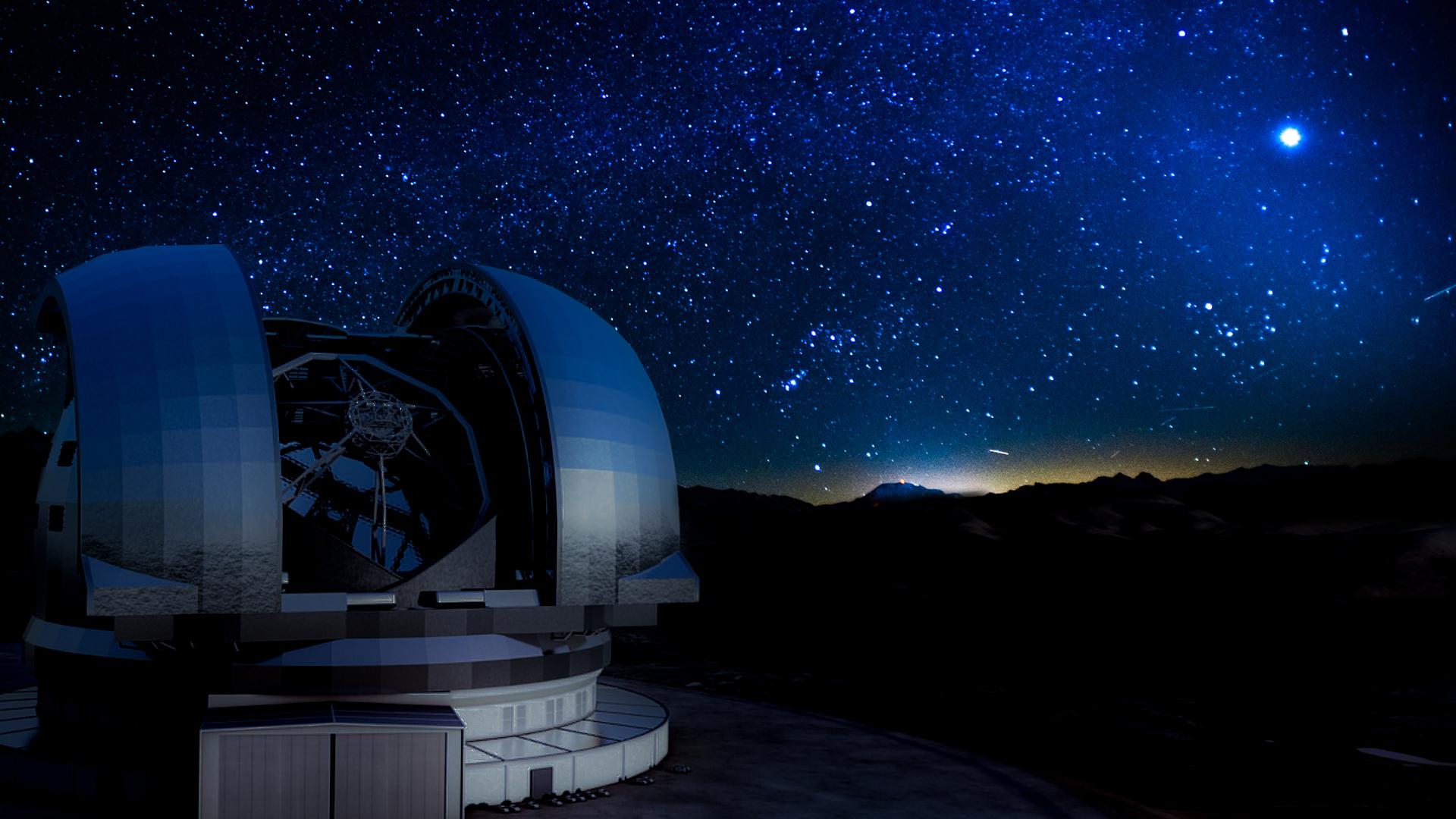 saul - ameliach - telescopio - óptico