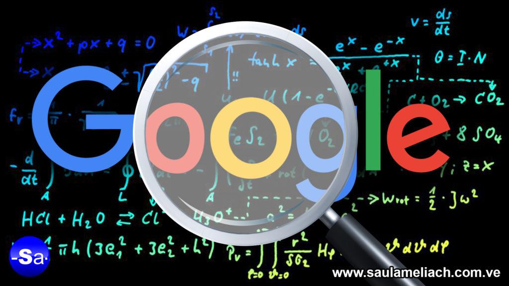 Saul Ameliach Algoritmos Google