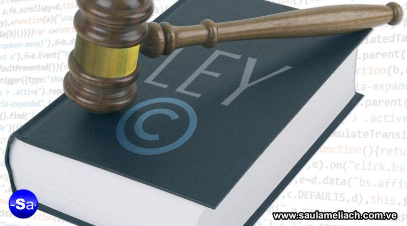 Saul Ameliach Nueva ley Copyright