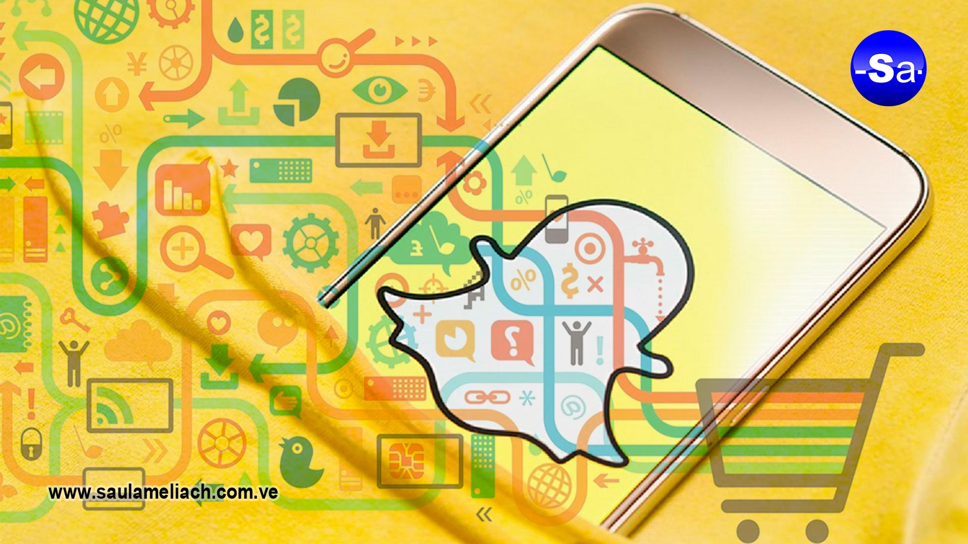 saul ameliach Snapchat nueva actualización publicitaria