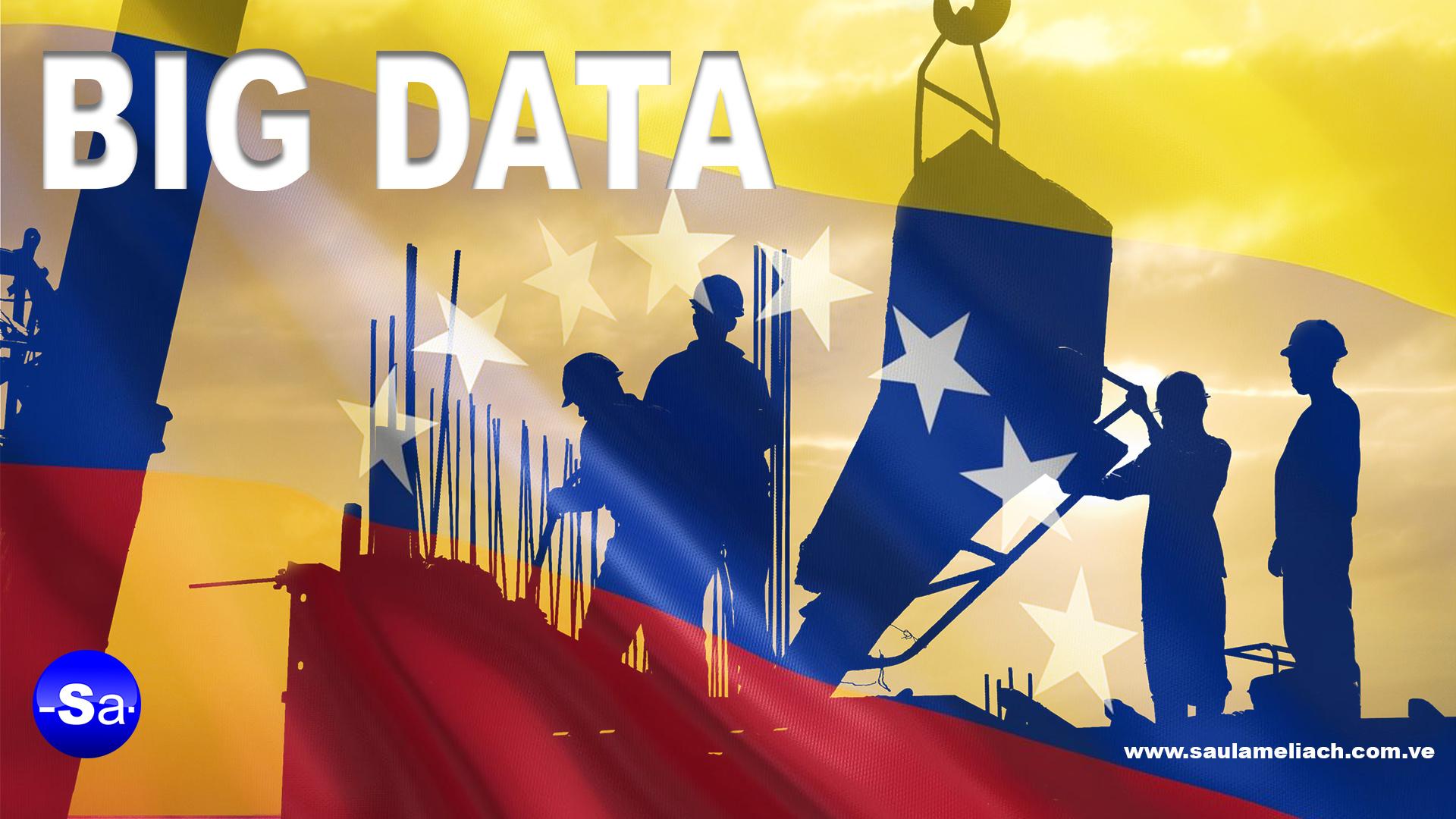 Saul Ameliach Venezuela tecnología Big Data