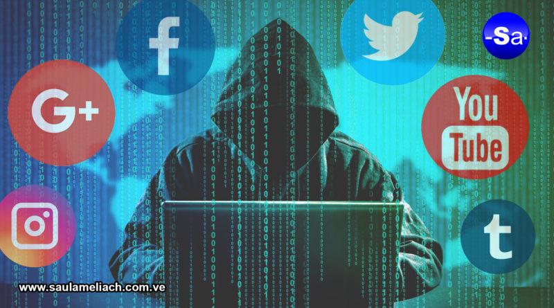 Redes sociales plataformas para generar ciberataque