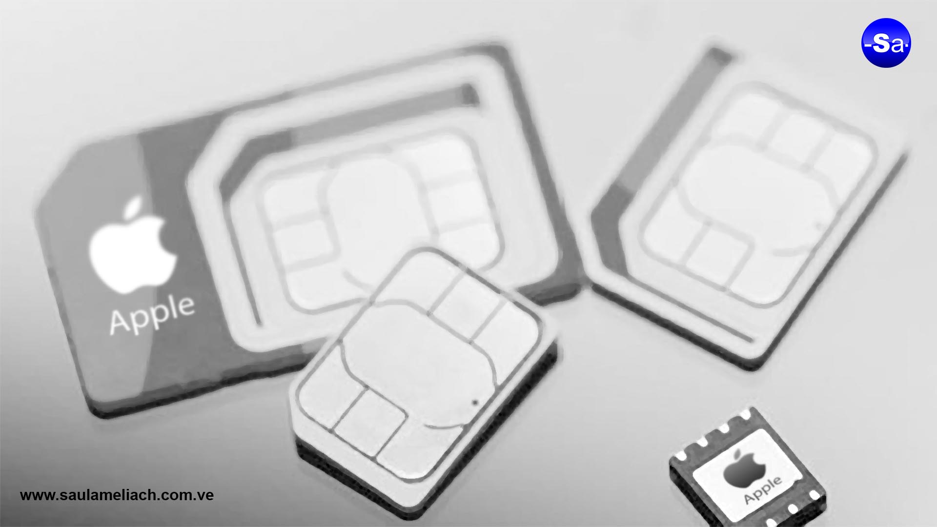 Saul Ameliach - Apple innova eSIM para iPhone XS - eSIM