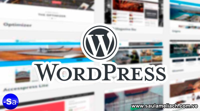 Saul Ameliach - plantilla WordPress
