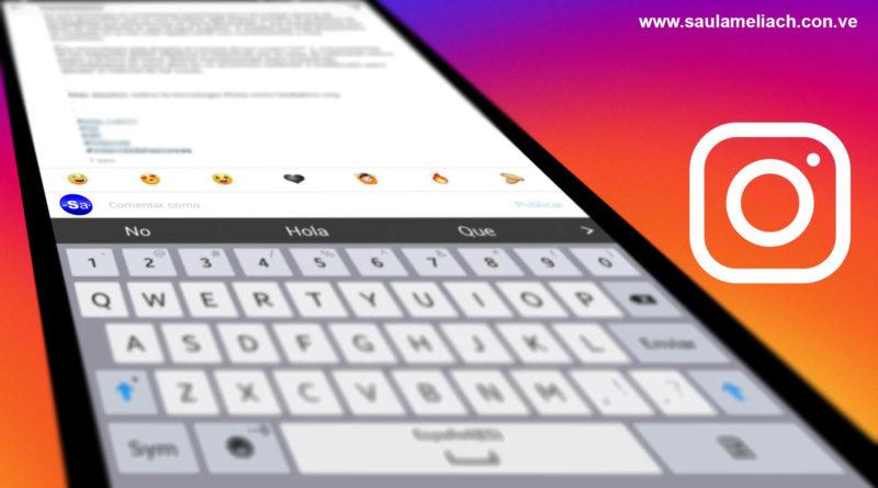 Instagram introduce emojis personalizados para comentarios rápidos